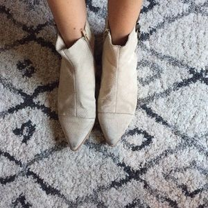 Coconuts by Marissa // Cut out zip up booties